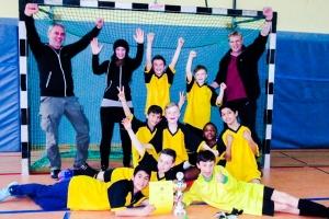 Hamburger Meisterschaft im Hallenfußball der Grundschulen 2017